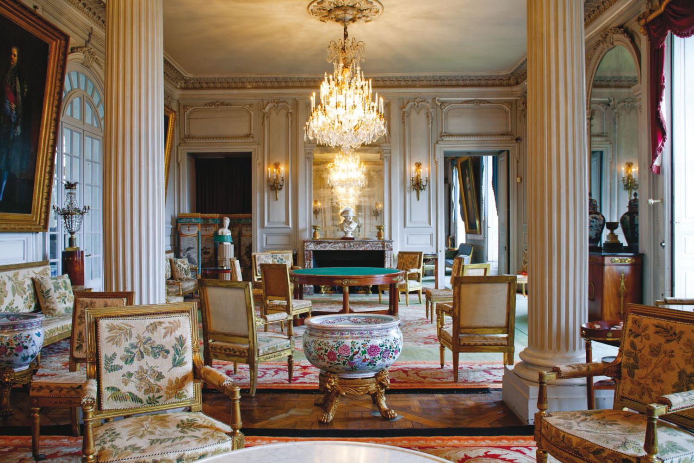 Chaise Salle A Manger Louis Xv château de valençay — des collections remarquables